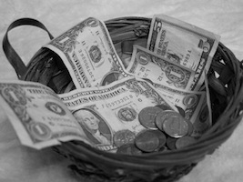 The Courage to tithe