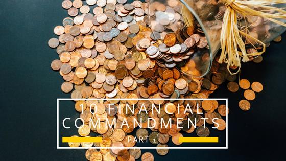 10 Financial Commandments part 1